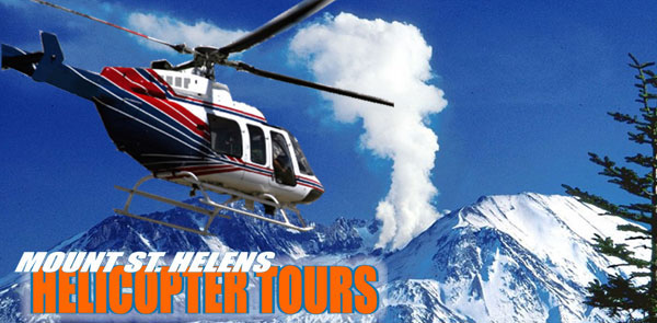 Mount St. Helens Best Helicopter Tours !  360-274-7750